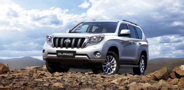 toyota land cruiser prado 2018 new